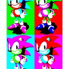 Andy Warhol Sonic by macewind