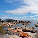 Bay of Fires grants point Tasmania by Glen Johnson