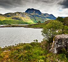 Slioch & Loch Maree by David Lewins
