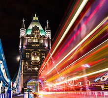 London Tower Bridge by Michael Abid