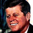 All The President&#x27;s Heads #2 - JFK by Benedikt Amrhein