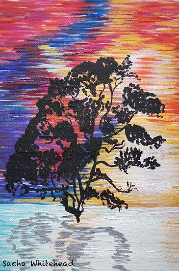Dark Tree by Sacha Whitehead
