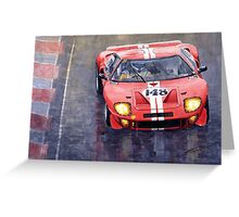 Ford GT 40 24 Le Mans  Greeting Card