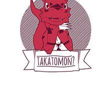 Takatomon by gallantdesigns