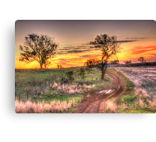 Return Journey - Cootamundra, NSW - The HDR Experience Canvas Print