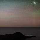 Comet and Aurora by Alex Cherney