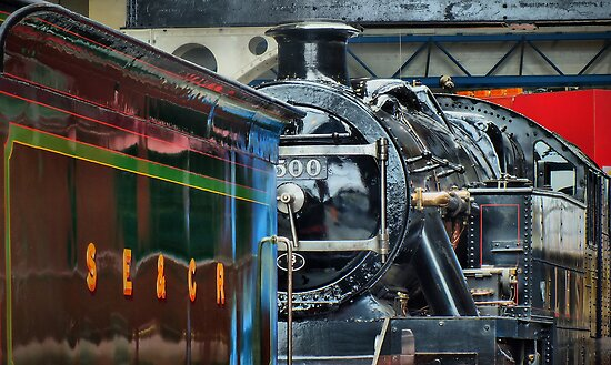 Reflections - The National Railway Musuem - York - HDR by Colin J Williams Photography
