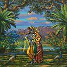 Radha Krishna by Vrindavan Das