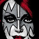 Ace Frehley - Kiss - The Space Ace iPhone Case by Design-Magnetic