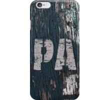 PA iPhone Case/Skin