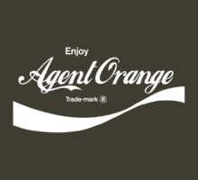 Enjoy Agent Orange (army) - geek t-shirt by geekuniverse