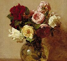 Roses, 1884 by Bridgeman Art Library