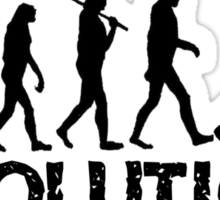 Evolution of a Baseball Player Sticker