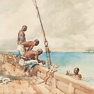 The Conch Divers, 1885 by Bridgeman Art Library