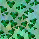 Emerald Hearts (iPhone/iPod) by ScaleDesigns