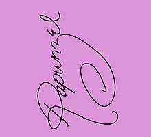 Rapunzel's Autograph by lunalalonde