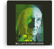 Eternal William S. Burroughs  Canvas Print
