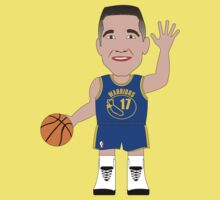 Caricatura de Chris Mullin, guard de los Golden State Warriors by D4RK0