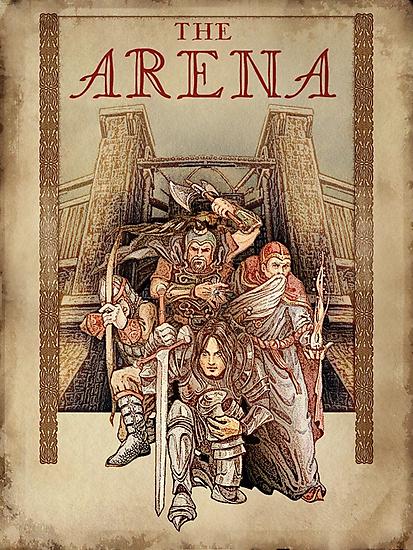 The Arena - Elder Scrolls IV Oblivion  by Fiona Boyle