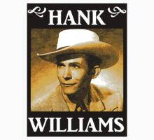 Country Singer, Hank Williams T-Shirt