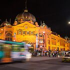 Flinders Street Station by ashercobb