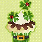 St. Patrick&#x27;s Day Cupcake by sandygrafik