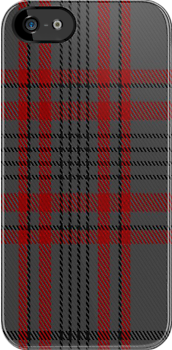 00745 Balmoral (Pendleton) Fashion Tartan Fabric Print Iphone Case by Detnecs2013