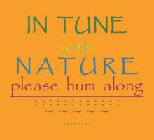 please HUM along by TeaseTees