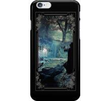 "I-phone case ""The Silver Doe"" - framed iPhone Case/Skin"