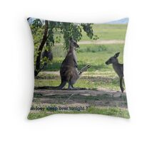 Sleepover Throw Pillow
