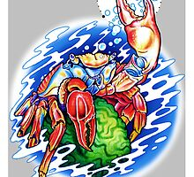 Sally Lightfoot Crab by hatefueled