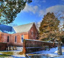 Old Blandford  Church in Petersburg by WestBigSky