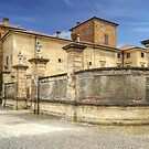 Italian Castles - Castle Of Agazzano Main Entrance by paolo1955