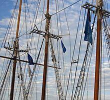 Tall Ships Flags by Tina Hailey