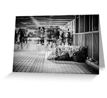 Shattered Dreams Greeting Card
