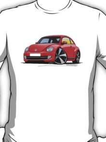 VW New Beetle (2012) Red T-Shirt