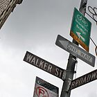 Broadway/Walker St Sign by Andrew Connor Smith