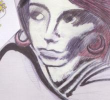 Portrait of Lilith Sticker