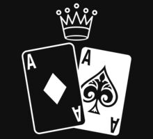 Poker Cards with Crown by no-doubt