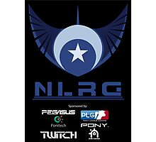 """New Lunar Republic of Gaming """"POSTER"""" Photographic Print"""