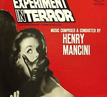 Experiment In Terror ~ 1962 Soundtrack album cover by Vintaged