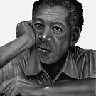 Morgan Freeman   by Chris-Cox