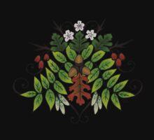 Oak Ash Thorn- Fairy Triad of Trees by savagedryad