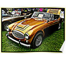 Austin Healy Poster