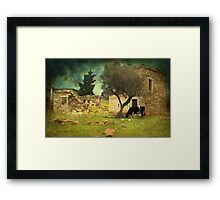 Once upon a time in Phokaia  Framed Print