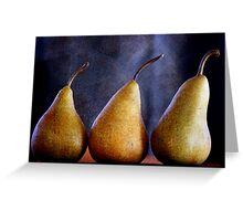 Playing with Pears Greeting Card