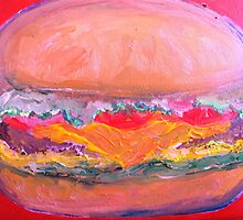 Giant Cheeseburger Please! by artqueene