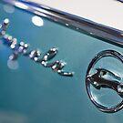 Sky Blue Chevy Impala by Norman Repacholi