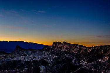 Zabriskie Sunset by Charles Dobbs Photography