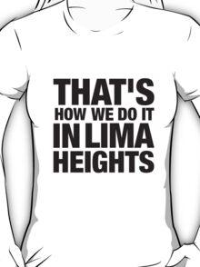 Lima Heights - Black T-Shirt